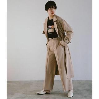 ジーナシス(JEANASIS)の新品タグ付き ベルト付き パンツ ワイドパンツ  (カジュアルパンツ)