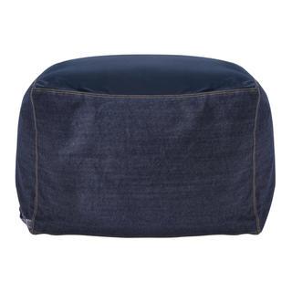 MUJI (無印良品) - 新品   無印良品  体にフィットするソファカバー 綿デニム(ネイビー)