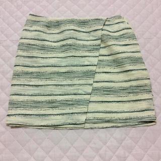 ギャップ(GAP)のGAP スカート ギャップ 美品 かわいい レディース おしゃれ ホワイト ミニ(ミニスカート)