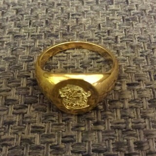 アヴァランチ(AVALANCHE)のK18 リング 激安! 印台 アヴァランチ アバランチ(リング(指輪))