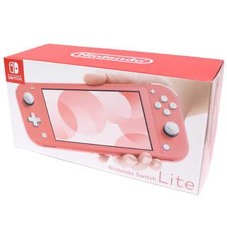 Nintendo Switch - 新品 スイッチ ライト コーラル