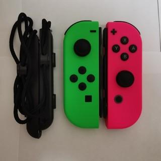 Nintendo Switch - Joy-Con (L) / (R) ネオングリーン ネオンピンク ジョイコン