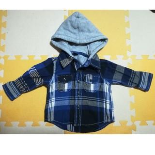ベビーギャップ(babyGAP)のベビーギャップ フード付きシャツ(シャツ/カットソー)