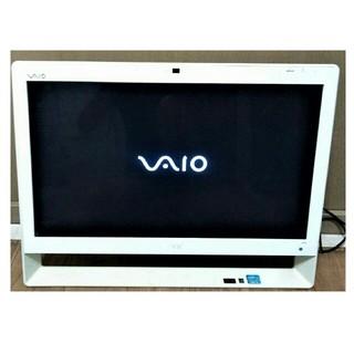 ソニー(SONY)の美品 VAIO テレビ3波チューナー Webカメラ Blu-ray 無線LAN(デスクトップ型PC)