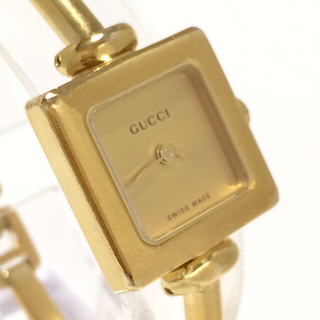 Gucci - 2.グッチ GUCCI 時計 1900L ゴールド