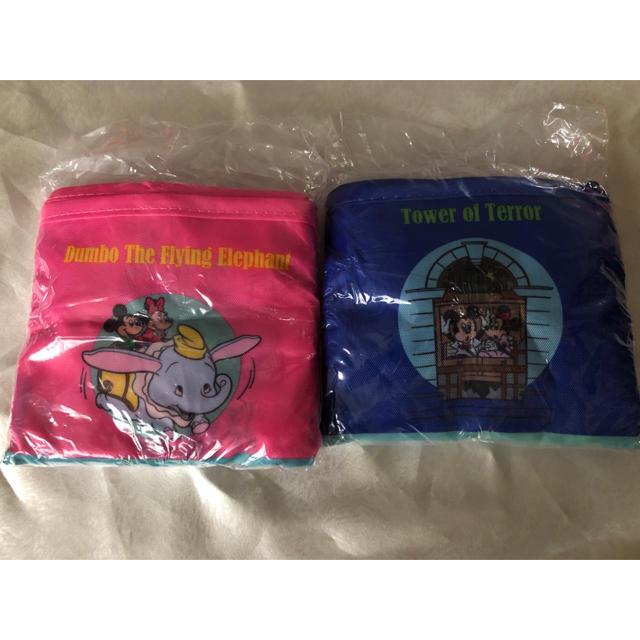 Disney(ディズニー)のディズニーランド エコバック 2つセット TDL エンタメ/ホビーのおもちゃ/ぬいぐるみ(キャラクターグッズ)の商品写真