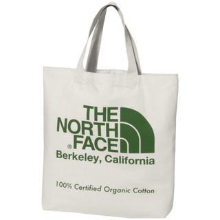 ザノースフェイス(THE NORTH FACE)の20年モデル 新品 未使用 ノースフェイス オーガニックコットン トート  緑(トートバッグ)