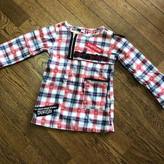 ヒステリックグラマー(HYSTERIC GLAMOUR)の長袖 チュニック hysteric glamour キッズ 100cm 女の子(Tシャツ/カットソー)