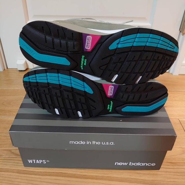W)taps(ダブルタップス)のWTAP×newbalance M992WT メンズの靴/シューズ(スニーカー)の商品写真