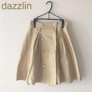 ダズリン(dazzlin)のdazzlin フレアトレンチスカート(ひざ丈スカート)