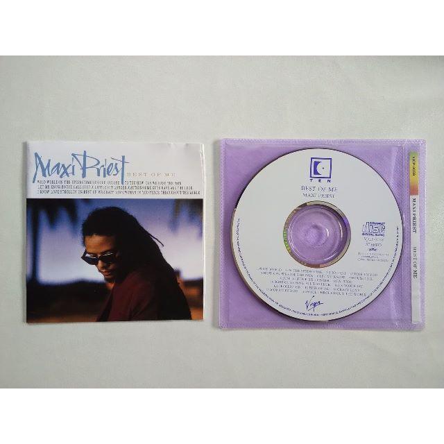 送料込 同梱で50円 Maxi Priest / The best of Me  エンタメ/ホビーのCD(ポップス/ロック(洋楽))の商品写真