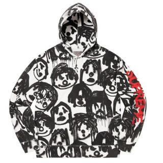 シュプリーム(Supreme)のsupreme yohjiyamamoto Hooded sweat shirt(パーカー)