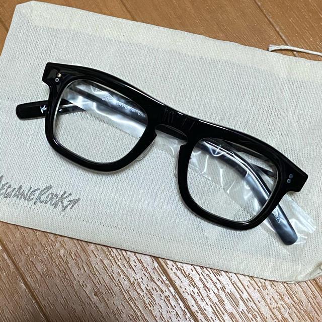 美品 MEGANE ROCK メガネロック VECTOR 010 ブラック メンズのファッション小物(サングラス/メガネ)の商品写真