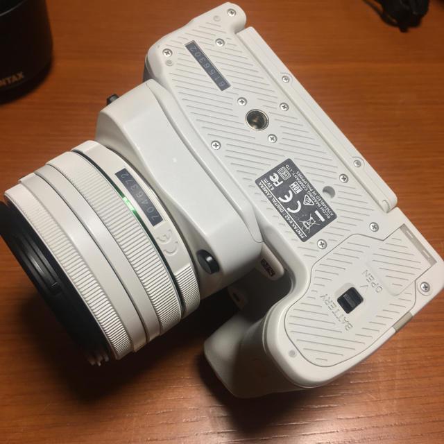 PENTAX(ペンタックス)のペンタックス PENTAX K-S2 ダブルズームレンズキット ホワイト  スマホ/家電/カメラのカメラ(デジタル一眼)の商品写真