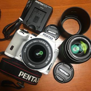PENTAX - ペンタックス PENTAX K-S2 ダブルズームレンズキット ホワイト