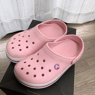 クロックス(crocs)のクロックス ピンク(サンダル)
