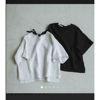 フォグリネンワーク(fog linen work)の北欧暮らしの道具店リネンブラウス(シャツ/ブラウス(半袖/袖なし))