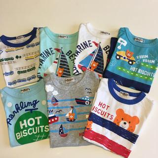 ホットビスケッツ(HOT BISCUITS)のミキハウス ホットビスケッツ Tシャツ  まとめ売り(Tシャツ/カットソー)