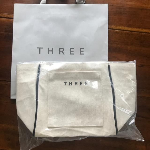 THREE(スリー)のTHREE ノベルティ トート オリジナル スワッグ バッグ レディースのバッグ(トートバッグ)の商品写真