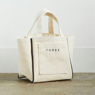 THREE - THREE ノベルティ トート オリジナル スワッグ バッグ