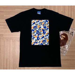 A BATHING APE - ★激レア★ APE 都市限定 前橋カラーカモ box ロゴ Tシャツ 黒 L