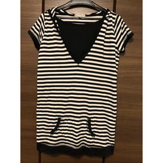 ニシマツヤ(西松屋)のボーダーTシャツ(Tシャツ/カットソー(半袖/袖なし))