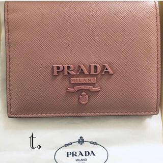 PRADA - 送料込み‼️ PRADA 折り財布 サフィアーノ