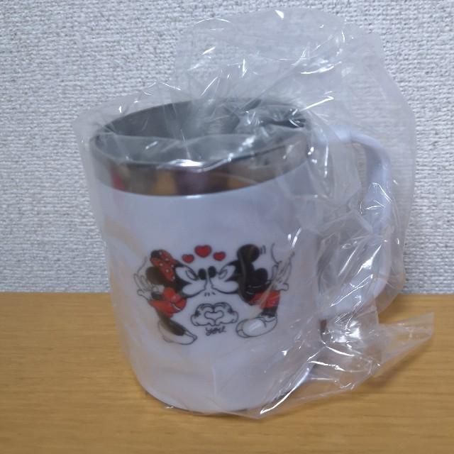 Disney(ディズニー)のディズニー ミッキー ミニー ステンレス ボトル  マグカップ コップ エンタメ/ホビーのおもちゃ/ぬいぐるみ(キャラクターグッズ)の商品写真