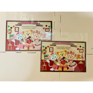 Disney - スウィートダッフィー ポストカード 2枚セット ディズニー