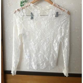 グレイル(GRL)のグレイル シアーシャツ(シャツ/ブラウス(長袖/七分))
