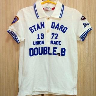 DOUBLE.B - ダブルビー ポロシャツ 100サイズ