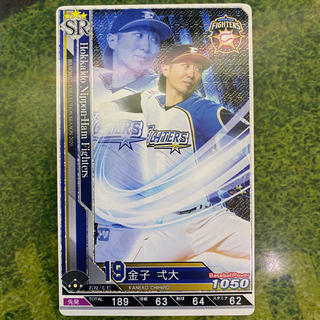 コナミ(KONAMI)のベースボールコレクション 金子(シングルカード)