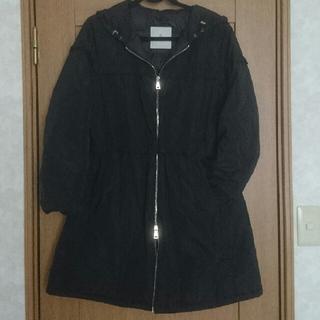 MONCLER - 送料込《モンクレール13万円》サイズ3(レディースL)黒フリルダウンジャケット