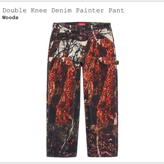 Supreme - Double Knee Denim Painter Pant