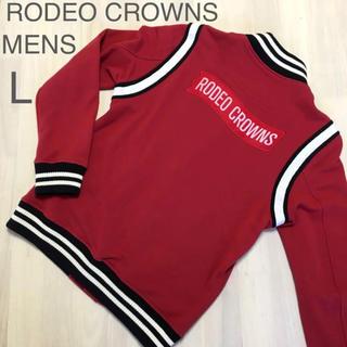 ロデオクラウンズワイドボウル(RODEO CROWNS WIDE BOWL)のメンズL✨RODEO CROWNS ロデオクラウンズ❤️バックロゴスタジャン(スタジャン)