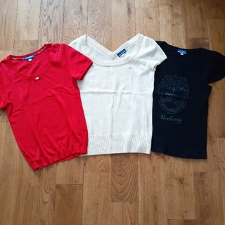 BURBERRY - BURBERRY カットソー・Tシャツ 3点セット