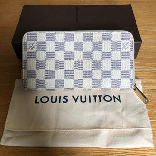 LOUIS VUITTON - 良品 正規品 ルイヴィトン アズール ジッピーウォレット