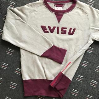 エビス(EVISU)のエヴィス EVISU 裏起毛スウェット  Lサイズ(スウェット)
