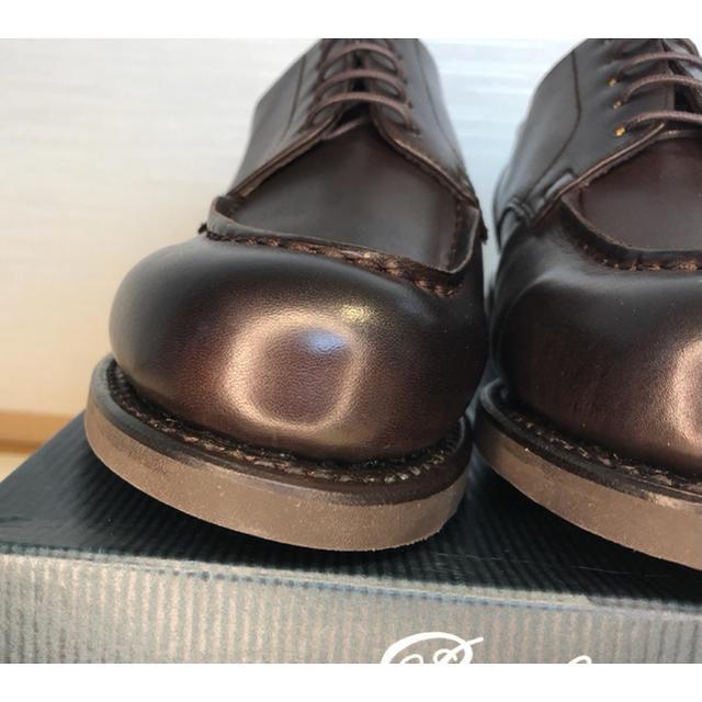 Paraboot(パラブーツ)の【BEAMS別注】シャンボード ACTEMソール チョコブラウンUK6 メンズの靴/シューズ(ドレス/ビジネス)の商品写真