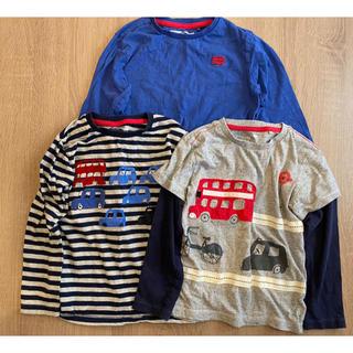 ネクスト(NEXT)のnext 長袖 Tシャツ サイズ4-5yrs 110 3着(Tシャツ/カットソー)