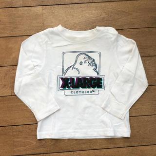 エクストララージ(XLARGE)のエクストララージ ロンT ホワイト(Tシャツ/カットソー)