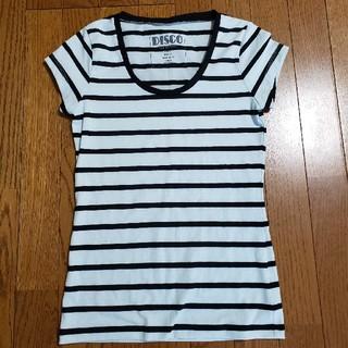 スライ(SLY)のSLYボーダーTシャツカットソーミント(Tシャツ(半袖/袖なし))