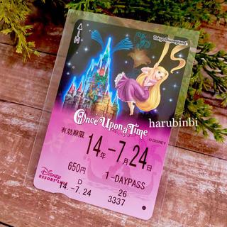 ディズニー(Disney)のラプンツェル フリーきっぷ ワンスアポンアタイム フリー切符 一日乗車券(その他)