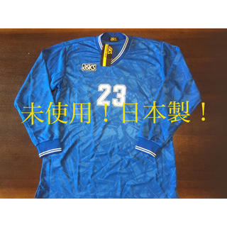 アシックス(asics)のタグ付き、未使用! 日本製! サッカーユニフォーム(ウェア)