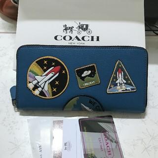 COACH - COACHコーチ ファスナー長財布F10846
