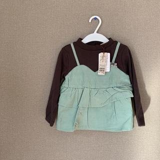 プティマイン(petit main)のレイヤードトップス(Tシャツ/カットソー)