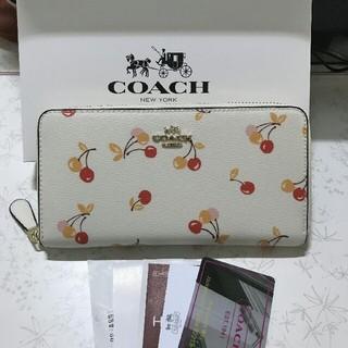 COACH - COACHコーチ ファスナー長財布F31947