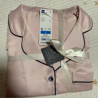 GU - サテンパジャマ長袖