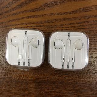 Apple - アップル iPhoneイヤホン 純正 2個セット