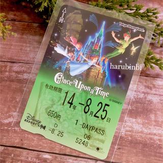 ディズニー(Disney)のピーターパン フリーきっぷ ワンスアポンアタイム フリー切符 一日乗車券(その他)